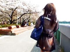 Japanese schoolgirl, Japanese  schoolgirl, Outdoor solo, Public japanese, Asian schoolgirl, Public girl