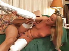 Boots, ¨boots, The best sex, Sex fee, Dick cum, Dick blonde