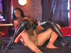 Anal, Latex, Leather, Leather anal, Jada, Pounding