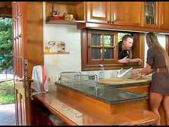 Spanish, Housewife, In kitchen, Wife, Spani, Panis