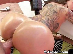 Doggystyle, Tattoo, Doggystyl, Tattooed milf, Tattoo milf, Milf tattoo