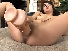 Toy long, Sex with toy, Sex with sex toy, Masturbate with dildo, Long haire, Dildo brunette