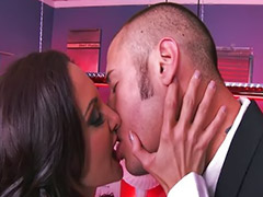 Ass lick, Ass licking, Ava addams, Licking cock, Big tits facial, Ass fetish