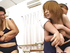 Morenas grupal, Censurado japones, Sexo japones, Sexo con japonesas, Asiático