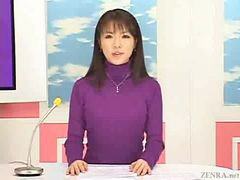 Japanese, To get, Buk a, Newscast, Japanese newscaster, Thei