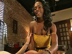 Shemale, Ebony anal, Blowjob&fucking, Shemale ebony, Shemale fuck guy, Shemale fucks guy