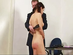 Teen, Shaving, Spanking, Teacher, Teen couple, Spanked