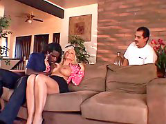 Blonde wife, Wife blacks, Hot wife, Old guy, Husband watch, Wife black