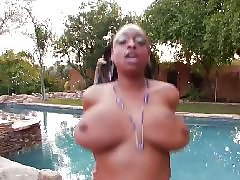 Địt hay, Thick black, Thick bbw, Pool fucking, Pool fuck, Pool black