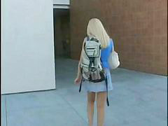 Preparing, Student college, Student blonde, Long lồn, Excite, Blonde student