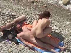 Couple, Horny, Beach