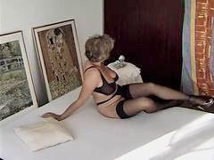 Granny, Stockings-black, Stockings fuck, Stocking sexy, Stocking fuck, Stocking black