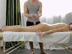 Massage, Teen sex, Russian, Russian anal
