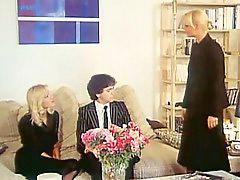 Threesome, Lahaie, Threesoms, Brigitte lahai, Elisabeth a, Threesom