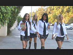 School girls