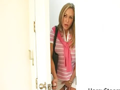 Milf, Threesome, Teen, Brandi love