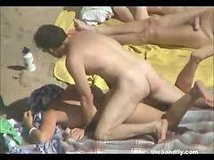 گروهی ساحل, سکس سکس ساحل, سکس ساحل عمومی, ماسه, مکان عمومی, ساحل