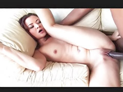 Small tits, Small cock, Asian interracial, Big cock blowjob, Throat fucked, Interracial asia