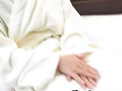 Japanese, Stroking, Shinobu, Stroking cock, Japanese suck, Japanese couple blowjob