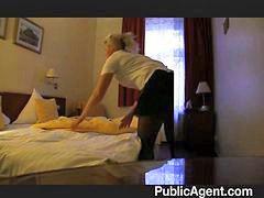Maid, Blonde, Hotel, Fuck, Blond, Lon