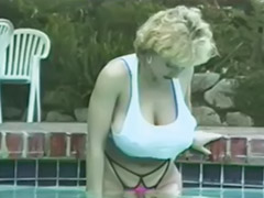 Busty, Pool, 2 in 1, She, Danny d, Danny ashe