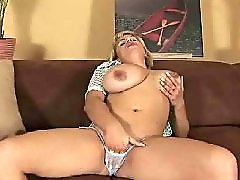 Mature masturbation, Mom fuck, Huge boobs, Milf, Big tits, Blonde mom