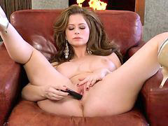 Dildo, Emily, Fireplace, Emily addison, Emilie, The hole