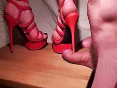 Femdom, Shoejob, Footj, Sexy foot, Shoejob femdom, Femdom sex