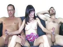 Trio masturbandose, Maduro, Maduras calientes, Conjunto de tres