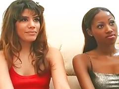 Interracial lesbians, Interracial lesbian