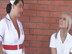 Busty nurses, The nurses, Nurse busty, Busty seducing, Busty seduce, Busty nurse