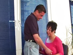 Blowjobs office, German sex sex, Sex office, Stocking mature, Mature german, Red stocking