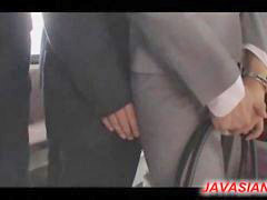 Bus, Office, Blowjob
