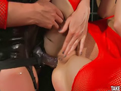 Lesbian anal, Stockings anal, Spanking lesbian, Lesbian stockings, Mistress spanking, Lesbian spanking