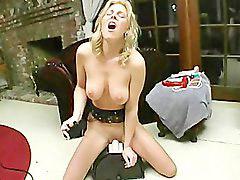 Sybian, Danielle, Niel, Sybian orgasm, Loude, Orgasm loud