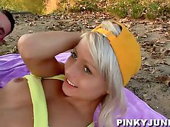 Teen, Czech, Pinky, 2 czech, Prague, Pinky june