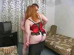 Bbw, Mom son, Russian, Mom, Russian mature
