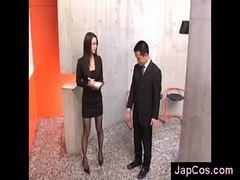 Japanese, Office, Offic, Japan girl, Japanese姉, Japan office