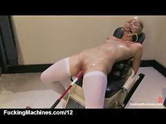 Machine, Gagging, Vibrator, Gag