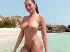 Beach, Big natural tits, Zara, Big girls, Big naturals, Big natural