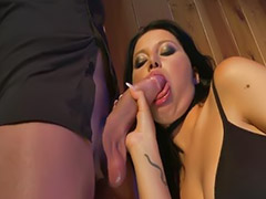 Anna, Double blowjob, Double penetration brunette, Double brunette, Brunette double, Annasını