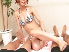 Japanese handjob, Sara, Handjob, Feet, Asian