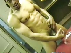 Ebony masturbe, Branler