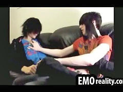 Emo, Kissing, Teen, Shy