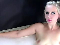 Voyeur blond, Blonde bathtube, Bathtube, Cally, Cigarettes, Bathtub
