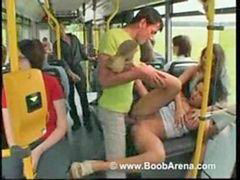 Bus, Public, Laura lion, Public sex, Bus sex, Laura