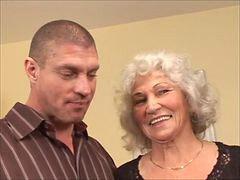 おばあさん クリームパイ, おばあさん, 中出し, おばあちゃん