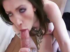 Amateur deepthroat, Big busty tits, Taped, Anal pov, Anal busty, Gf anal