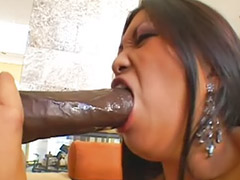 Big black cock, Black, Big cock, Asian