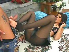 Shy, Shy love, Footj, Panty job, Footjobs, Pantyhose footjob